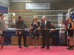 Boxing club opening