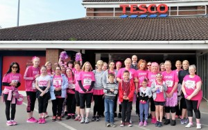 Tesco race for life May 16